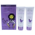 DERMAdoctor KP Duty Kit Step1 Body Scrub, Step 2 Moisturizing Therapy