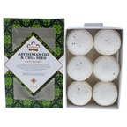 Nubian Heritage Abyssinian Oil and Chia Seed Bath Bombs