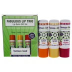 Human+Kind Fabulous Lip Balm Trio Orange, Vanilla, Raspberry