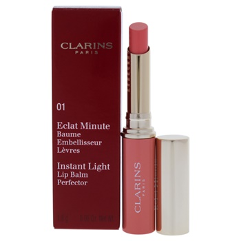 Clarins Instant Light Lip Balm Perfector - 01 Rose