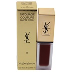 Yves Saint Laurent Tatouage Couture Liquid Matte Lip Stain - 08 Black Red Code Lip Gloss