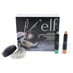 e.l.f. Super Color Correcting Collection Peach and Green Color Correcting Sticks, Mineral Pearls