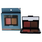 e.l.f. Aqua Beauty Blush and Bronzer - Bronzed Pink Beige Makeup