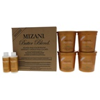Mizani Butter Blend Relaxer for Fine-Color Treated Hair Kit 4 x 7.5oz Fine Color-Treated Relaxer, 2oz Honey Shield, 2oz Butter Base