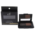 e.l.f. Gel and Powder Eyebrow Kit - Dark