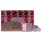 Bvlgari Omnia Pink Sapphire 2.2oz EDT Spray, 2.5oz Body Lotion, 2.5oz Bath and Shower Gel, Pouch