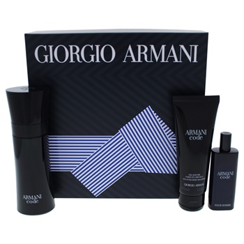 Giorgio Armani Armani Code 2.5oz EDT Spray, 0.5oz EDT Spray, 2.5oz All Over Body Shampoo