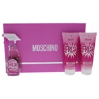 Moschino Moschino Pink Fresh Couture 1.7oz EDT Spray, 3.4oz Body Lotion, 3.4oz Bath and Shower Gel