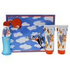 Moschino I Love Love Cheap and Chic 1.7oz EDT Spray, 3.4oz Perfumed Bath and Shower Gel, 3.4oz Perfumed Body Lotion