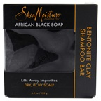 Shea Moisture African Black Soap Bentonite Clay Shampoo Bar
