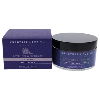 Crabtree & Evelyn Lavender and Espresso Calming Body Scrub
