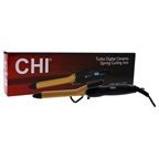 CHI Turbo Digital Ceramic Spring Curling Iron - European Plug