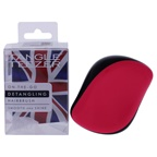 Tangle Teezer Compact Styler Detangling Hairbrush - Black-Pink Hair Brush