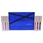 Stila Ethereal Elements Beauty Boss Lip Gloss Set Lip Gloss Pink Slip, Golden Parachute, Kitten, Synergy, In The Red, Bonus Baby