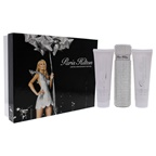 Paris Hilton Paris Hilton Anniversary Edition 3.4oz EDP Spray, 3oz Body Glistening Lotion, 3oz Bath and Shower Gel