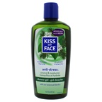 Kiss My Face Anti-Stress Shower Gel - Woodland Pine and Ginseng