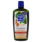 Kiss My Face Active Athletic Shower Gel - Birch and Eucalyptus