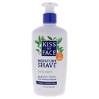 Kiss My Face Moisture Shave Cream - Cool Mint