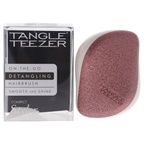Tangle Teezer Compact Styler On-The-Go Detangling Hairbrush - Rose Gold Glaze Hair Brush