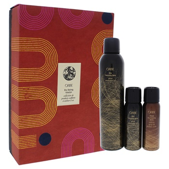 Oribe Dry Styling Collection 8.5oz Dry Tesxturizing Spray, 2.2oz Dry Tesxturizing Spray, 2.0oz Thick Dry Finishing Spray