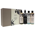 Cowshed Signature Hand and Body Set Relax Shower Gel, Relax Body Lotion, Refresh Hand Wash, Refresh Hand Lotion