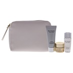 Estee Lauder Re-Nutriv Ultimate Lift Regenerating Youth Precious Collection 0.5oz Cream, 1oz Hydrating Creme Cleanser, 1oz Softening Lotion, Cosmetic Bag