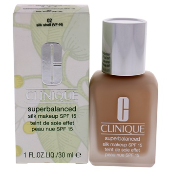 Clinique Superbalanced Silk Makeup SPF 15 - 02 Silk Shell Foundation