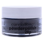 Cuccio Pro Powder Polish Nail Colour Dip System - Dark Blue with Black Undertones Nail Powder