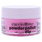 Cuccio Pro Powder Polish Nail Colour Dip System - Neon Pink Nail Powder