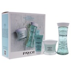Payot Hydra 24 Plus Quenching Routine 1.6oz Cream, 4.2oz Infusion, 0.5oz Mask