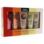 The Body Shop The Iconic Hand Cream Selection Shea, Mango, Almond Milk and Honey, Strawberry, Moringa