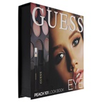 Guess Beauty Eye Lookbook - 101 Peach 0.14oz Volumizing Black Mascara, 0.48oz Eye Shadow, 0.017oz Soft Kohl Black Eyeliner