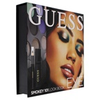 Guess Beauty Eye Lookbook - 101 Smokey 0.14oz Volumizing Black Mascara, 0.48oz Eye Shadow, 0.017oz Soft Kohl Black Eyeliner