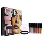 Guess Beauty Lip Lookbook - 101 Nude 3 x 0.14oz Lip Gloss, 3 x 0.14oz Matte Liquid Lipstick