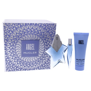 Thierry Mugler Angel 1.7oz EDP Spray, 0.33oz Purse Spray, 3.5oz Body Lotion