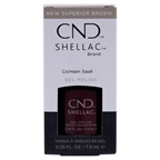 CND Shellac Nail Color - Crimson Sash Nail Polish