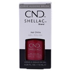CND Shellac Nail Color - Hot Chilis Nail Polish