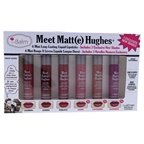 the Balm Meet Matte Hughes Liquid Lipstick Set Charming, Adoring, Romantic, Loving, Captivating, Passionate