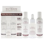 Nutri-Ox Extremely Thin Chemically Treated Hair Starter Kit 6oz Shampoo Chemically-Treated, 6oz Conditioner Chemically-Treated, 1.5oz Treatment for First Signs Noticeably Thin