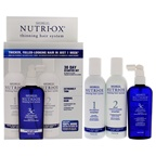 Nutri-Ox Extremely Thin Normal Hair Starter Kit 6oz Shampoo Normal, 6oz Conditioner Normal, 4oz Treatment for Extremely Thin Normal and Chemically-Treated