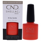 CND Shellac Nail Color - B-Day Candle Nail Polish