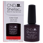 CND Shellac Nail Color - Berry Boudoir Nail Polish