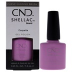 CND Shellac Nail Color - Coquette Nail Polish