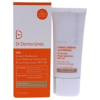 Dr Dennis Gross Instant Radiance Sun Defense Spf 40 - Light-Medium Cream