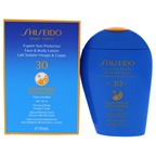 Shiseido Expert Sun Protector Face And Body Lotion Plus WetForce SPF 30 Sunscreen