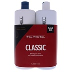 Paul Mitchell Classic Kit 33.8 oz Shampoo One, 33.8 oz The Conditioner