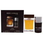 Dolce & Gabbana The One 3.4oz EDT Spray, 2.4oz Deodorant Stick