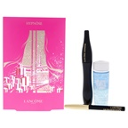 Lancome Hypnose Set 0.20oz Hypnose Mascara - 01 Black , 0.024oz Le Crayon Khol Pencil Eyeliner, 1oz Bi-Facil Eye Makeup-Remover