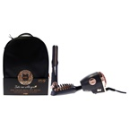Croc Plug In Travel Kit - Rose Gold Mini Flat Iron, Mini Hot Brush, Mini Blow Dryer