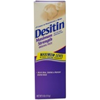 Johnson & Johnson Desitin Diaper Rash Maximum Strength Original Paste